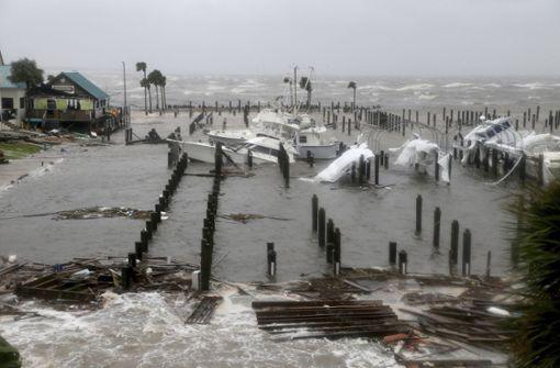 Der Hurrikan hinterlässt ein Bild der Verwüstung. Foto: Tampa Bay Times/AP