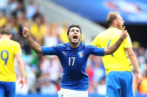 Ein spätes Tor sichert Italien den Sieg