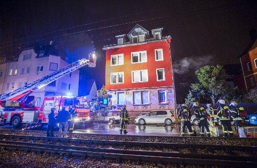 Ein Verletzter bei Wohnungsbrand