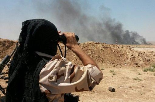Nach Angriffen hoffen auf Sieg über IS