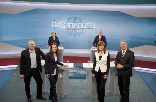 So begleiten die TV-Sender den Wahlkampf