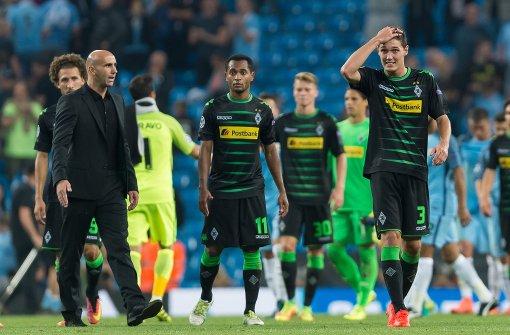 Gladbach gegen Guardiola und Co. chancenlos