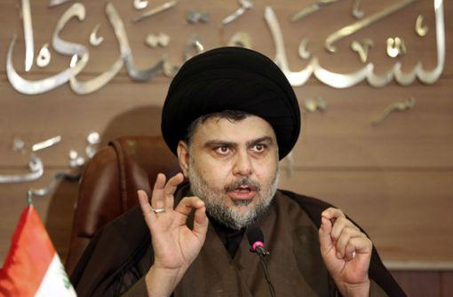 Der Geistliche Al-Sadr gewinnt die Wahl