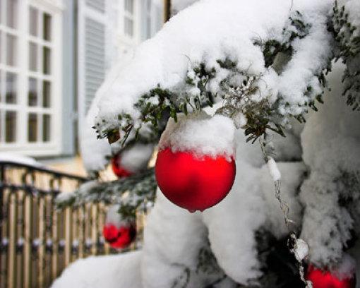 Weiße Weihnacht noch nicht sicher