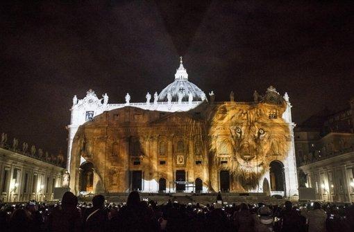 Wilde Tiere auf dem Petersdom