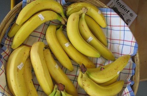 Der Bananentruck hält in Degerloch