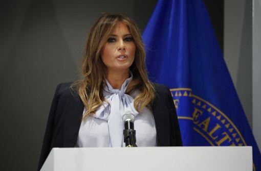 First Lady setzt sich für mehr Anstand in sozialen Medien ein