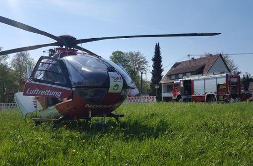 Arbeiter bei Kran-Unglück schwer verletzt