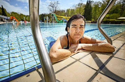 Täglich schwimmen als Lebenselixier