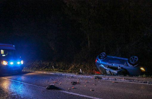 Betrunkener verursacht Unfall und wird schwer verletzt
