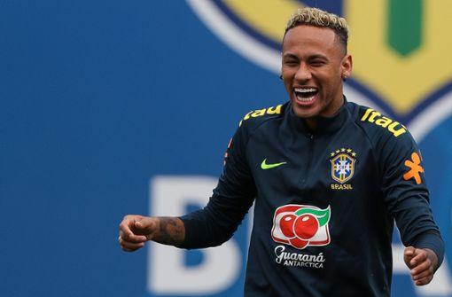 Brasilianer Neymar trainiert wieder