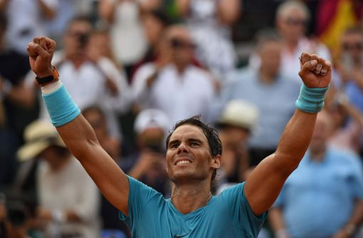 Rafael Nadal triumphiert zum elften Mal