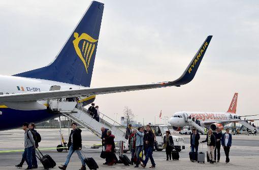 Fliegen wird in Deutschland billiger