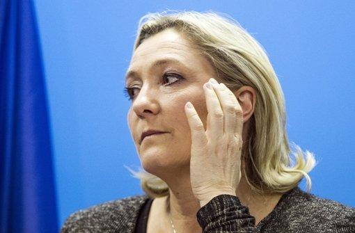 Kann ihre Partei eine Kommune führen? Auf der Front National von Marine Le Pen lastet ein Erwartungsdruck. Foto: dpa