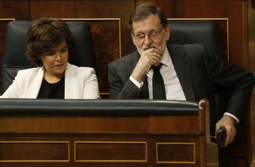 Mariano Rajoy räumt Niederlage bereits ein