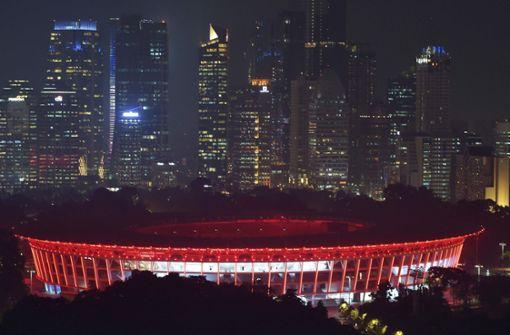 Erdbeben erschüttert Jakarta