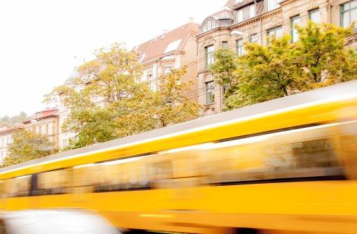 Jeden Tag fährt die Stadtbahn an den Stuttgartern vorbei und gehört damit fest zum Stadtbild.  Foto: Leserfotograf digi-fotostyle