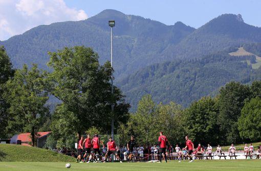 Der VfB absolviert seine Vorbereitung in Grassau im Chiemgau. Foto: Pressefoto Baumann