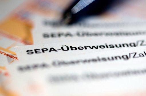 Unternehmen stellen auf Sepa um