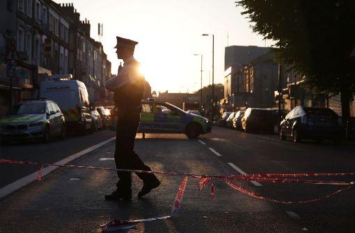Im Londoner Stadtteil Finsbury Park hat es nach Polizeiangaben einen schweren Zwischenfall mit mehreren Opfern gegeben. Foto: AFP
