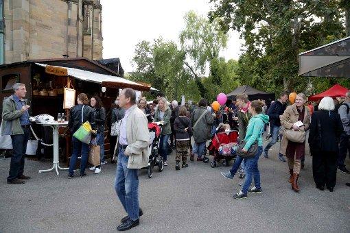 Das Feuerseefest im Stuttgarter Westen bietet Kunst, Kultur und Kulinarik - und außerdem jede Menge gute Unterhaltung. Foto: 7aktuell