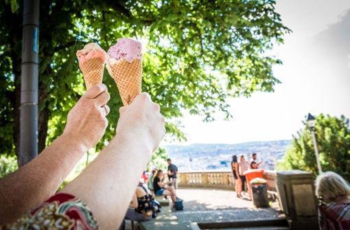 Stuttgarter genießen sommerliches Wetter