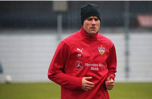 Holger Badstuber auf dem Weg zurück