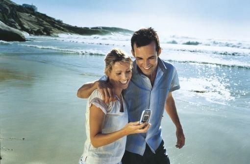 SMS im Urlaub Foto: Vodafone