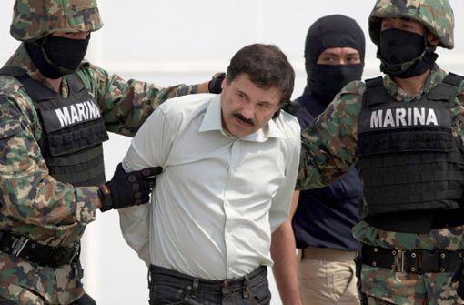 """Joaquín """"El Chapo"""" Guzmán sitzt seit seiner Auslieferung Anfang 2017 in einem Hochsicherheitsgefängnis in New York Foto: AP"""