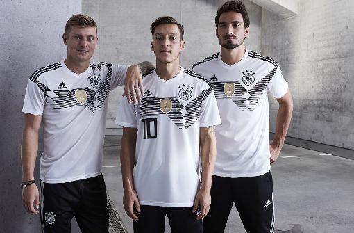 In diesem Trikot will das DFB-Team Weltmeister werden