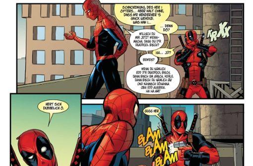 Spiderman, der Hurgler