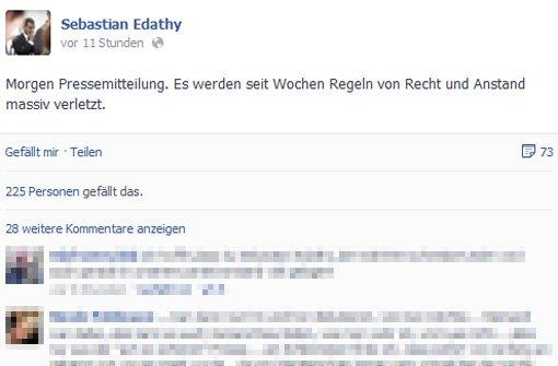 Edathy will sich nun öffentlich äußern