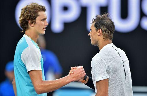 Alexander Zverev unterliegt Nadal in großem Match