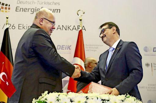 Altmaiers Charmeoffensive in Ankara