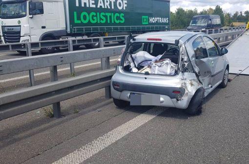 Der Fordfahrer touchierte mit seinem Auto einen Citroen. Foto: SDMG