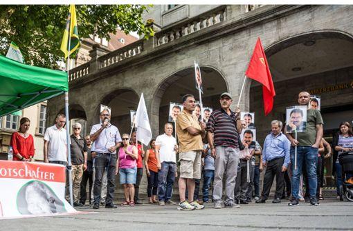 Demonstranten fordern Öcalan-Freilassung