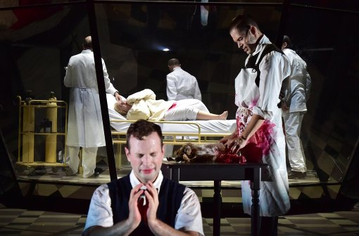 Anu Komsi (Mitte hinten), Peter Tantsits, Michael Leibundgut Foto: Sandra Then