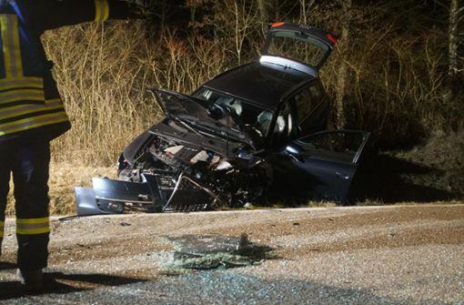 Schlimmer Unfall mit zwei Schwerverletzten