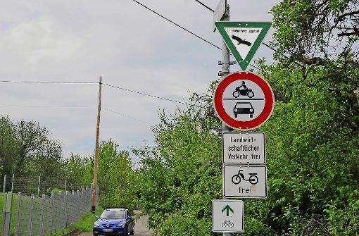 Illegaler  Verkehr erbost die Leidtragenden