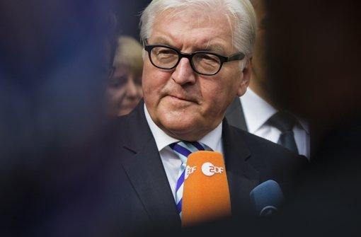 """""""Die europäische Welt ist ein Stück weit aus den Fugen geraten"""", sagt Frank-Walter Steinmeier Foto: Getty"""
