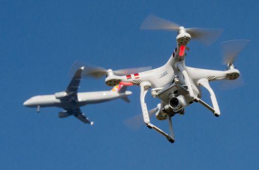 Immer mehr Drohnen über Stuttgarter Flughafen