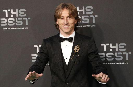 Luka Modric zum Weltfußballer des Jahres gekürt
