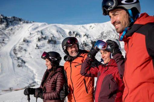 Perfekter Skitag im Zillertal