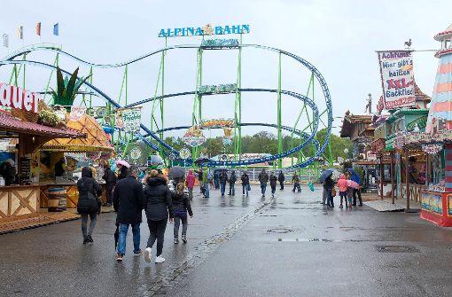 So leer geht es auf dem Stuttgarter Frühlingsfest zu