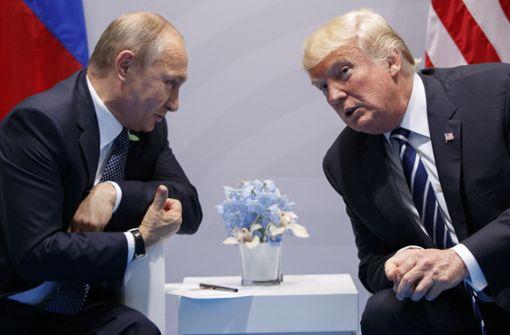 US-Präsident vor Treffen unter Druck