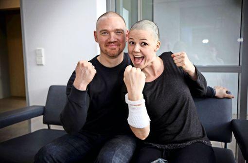 Angela Wehrmann und ihr Mann Johannes  haben dem Blutkrebs den Kampf angesagt – und gewonnen. Foto: privat