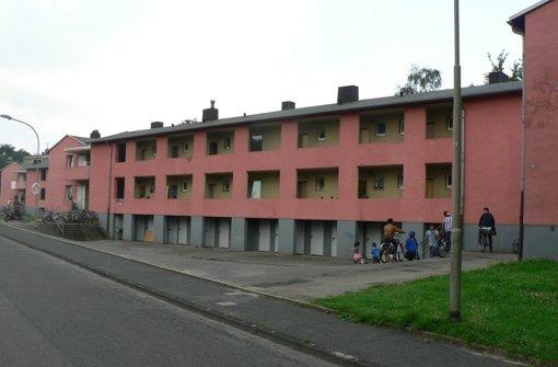 Das Flüchtlingsheim in Herne in der Nähe von Bochum Foto: StN