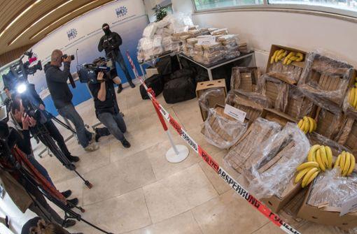 Ermittler stellen 640 Kilogramm Kokain sicher