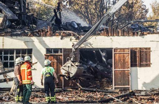 Großbrand auf Golfplatz – mögliche Ursache gefunden
