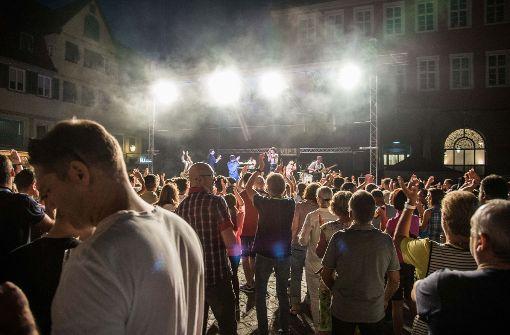 Gegen 22.30 Uhr war der Park geräumt, viele Leute zogen danach zum Gelände des Stadtfestes. Foto: SDMG